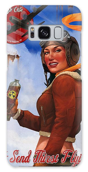 Atom Bomb Cola Send Thirst Flying Galaxy Case