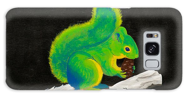 Atomic Squirrel Galaxy Case by Stefanie Forck