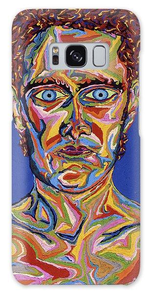 Atomic Visions - Self Portrait Galaxy Case by Robert SORENSEN