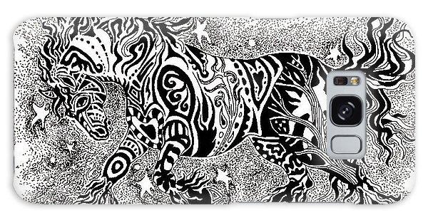 Attitude In Motion Galaxy Case by Yvonne Blasy