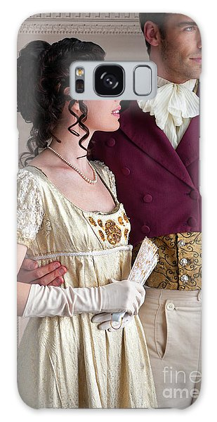 Attractive Regency Couple Galaxy Case by Lee Avison