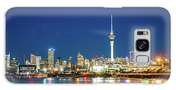 Auckland At Dusk Galaxy Case