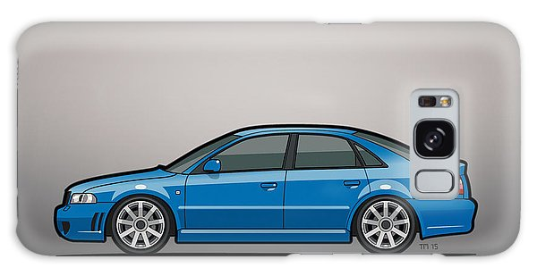 Made Galaxy Case - Audi A4 S4 Quattro B5 Type 8d Sedan Nogaro Blue by Monkey Crisis On Mars
