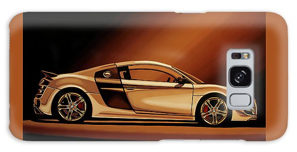 Coupe Galaxy Case - Audi R8 2007 Painting by Paul Meijering