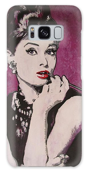 Audrey Hepburn - Breakfast Galaxy Case