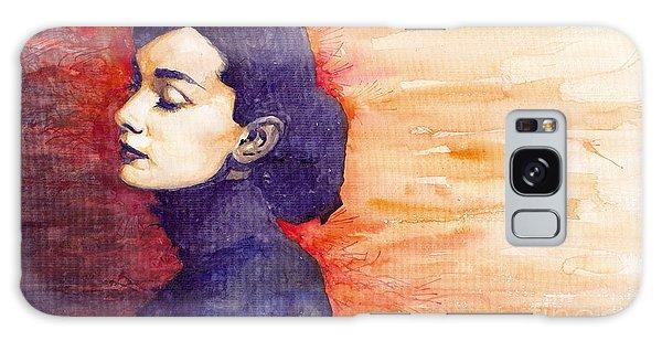 Galaxy Case - Audrey Hepburn 1 by Yuriy Shevchuk