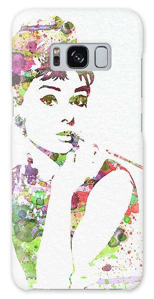 Actors Galaxy S8 Case - Audrey Hepburn 2 by Naxart Studio
