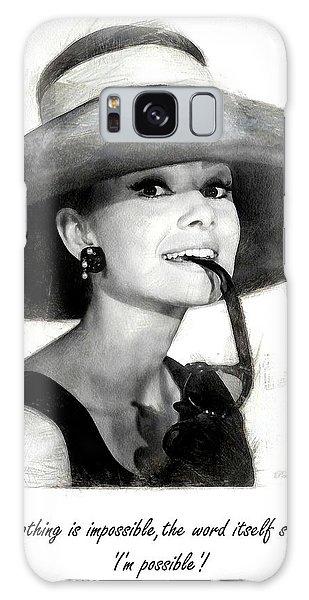 Audrey Hepburn 2 Galaxy Case