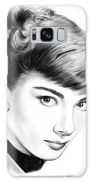 Actors Galaxy S8 Case - Audrey Hepburn by Greg Joens