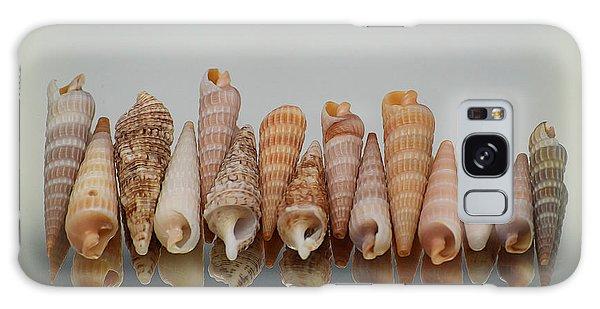 Auger Shells Galaxy Case by Patti Whitten