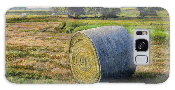 Pasture Galaxy Case - August Bale Study No.1 by Bruce Morrison