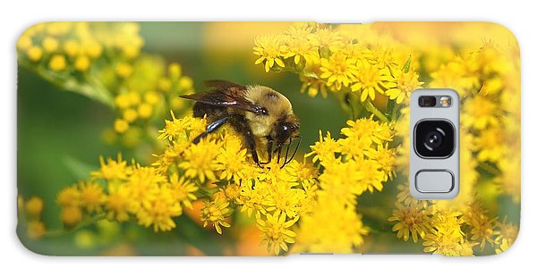August Bee Galaxy Case by Susan  Dimitrakopoulos