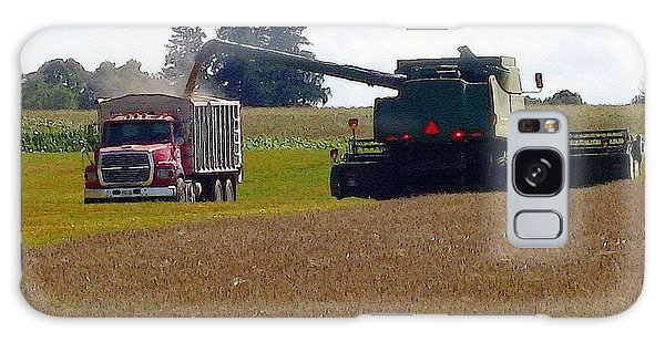 August Harvest Galaxy Case by J McCombie