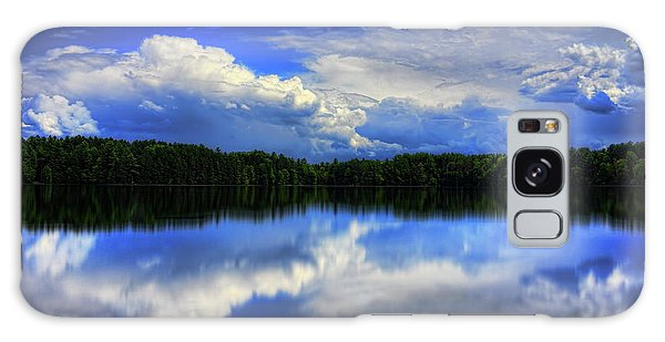 August Summertime On Buck Lake Galaxy Case