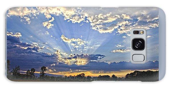 Morning's Glory Galaxy Case