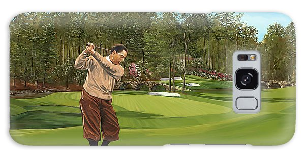Augusta 11 And 12th Hole Bobbyjones Galaxy Case by Tim Gilliland