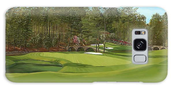 Augusta 11 And12th Hole Galaxy Case by Tim Gilliland