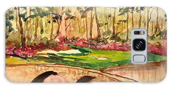 Augusta - 12th Hole Galaxy Case by Larry Hamilton