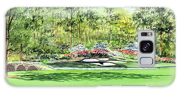 Augusta National Golf Course Galaxy Case by Bill Holkham