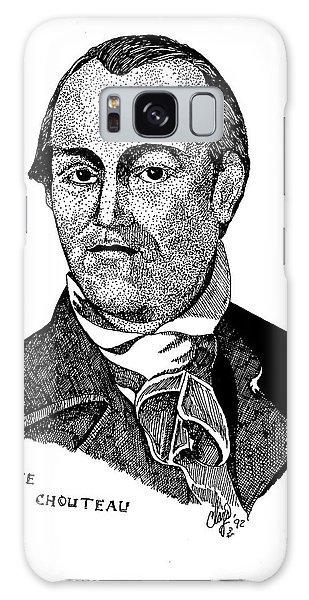 Auguste Chouteau Galaxy Case