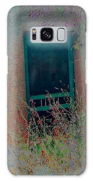 Galaxy Case featuring the photograph Augustines Door by Kate Word