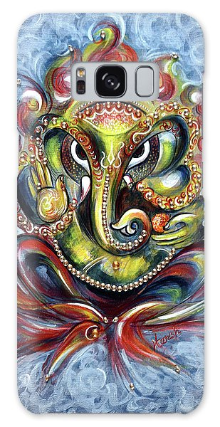 Aum Ganesha Galaxy Case