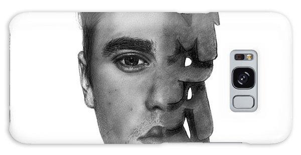 Galaxy Case - Justin Bieber Drawing By Sofia Furniel by Jul V