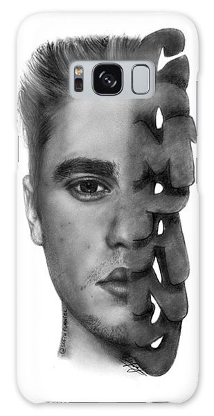 Galaxy Case - Justin Bieber Drawing By Sofia Furniel by Jul V