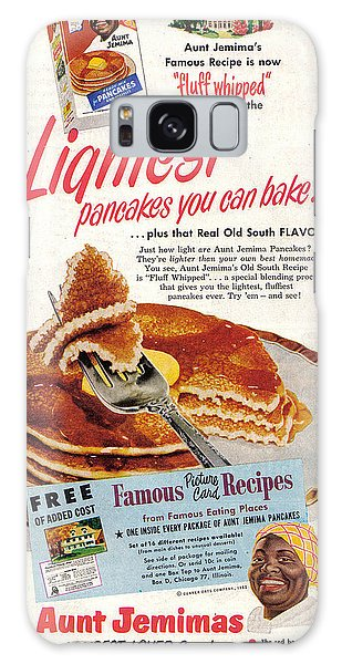 Aunt Jemima Pancakes Galaxy Case