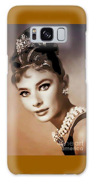 Aurdrey Hepburn - Famous Actress Galaxy Case