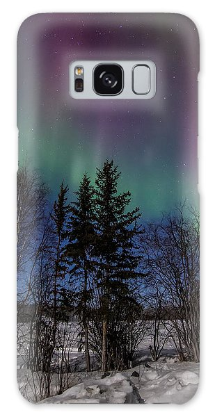 Aurora Curtains Galaxy Case