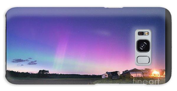 Aurora Energized Pepper Fields Galaxy Case by Patrick Fennell