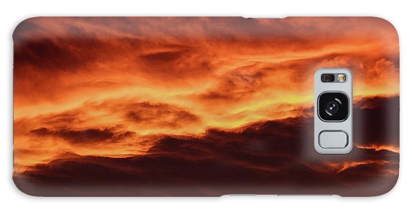 Aurora Firey Sunset Galaxy Case