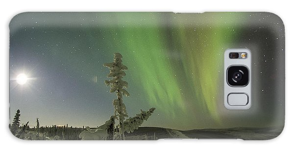 Aurora In The Hoar Frost Galaxy Case