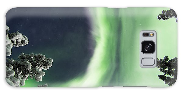 Aurora Lying On Your Back Galaxy Case