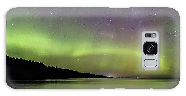 Aurora Over Superior 7 Galaxy Case