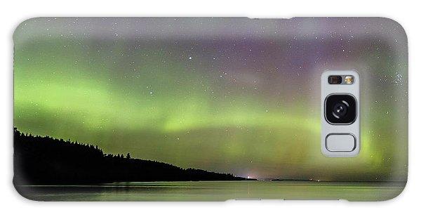Aurora Over Superior 7 Galaxy Case