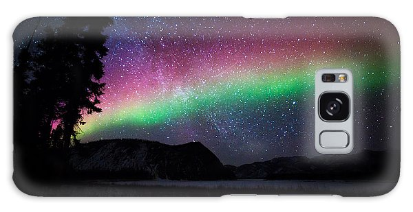 Aurora Rainbow Galaxy Case