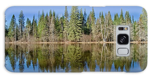 Ausable Reflections 1768 Galaxy Case by Michael Peychich
