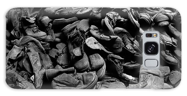 Auschwitz-birkenau Shoes Galaxy Case by RicardMN Photography