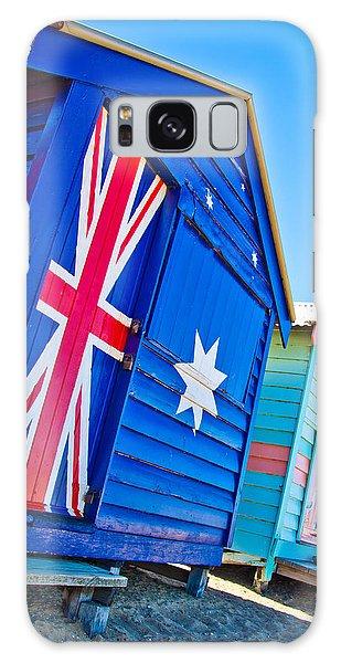 Victoria Galaxy Case - Aussie Beach Shack by Az Jackson