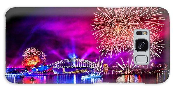 Fireworks Galaxy Case - Aussie Celebrations by Az Jackson