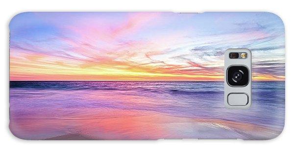 Aussie Sunset, Claytons Beach, Mindarie Galaxy Case