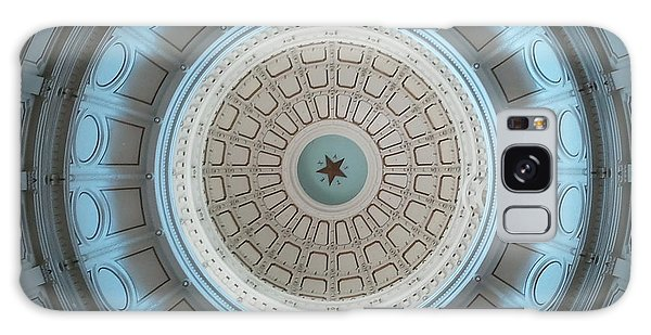 Austin Capitol Dome In Gray And Blue Galaxy Case