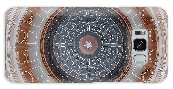 Austin Capitol Dome In Gray And Brown Galaxy Case