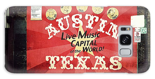 Austin Live Music Galaxy Case