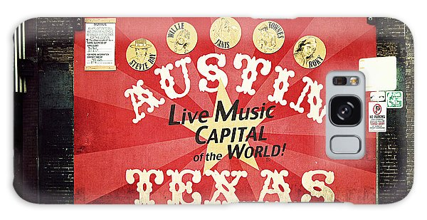 Austin Live Music Galaxy Case