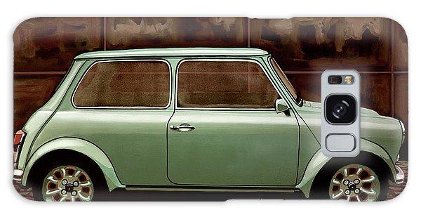 Automobile Galaxy Case - Austin Mini Cooper Mixed Media by Paul Meijering