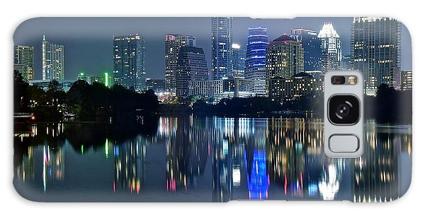 Austin Night Reflection Galaxy Case