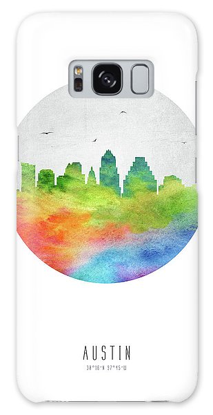 Austin Skyline Ustxau20 Galaxy Case by Aged Pixel